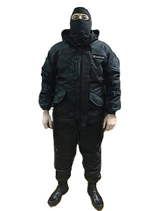 костюм горка 6 (черная) на флисе