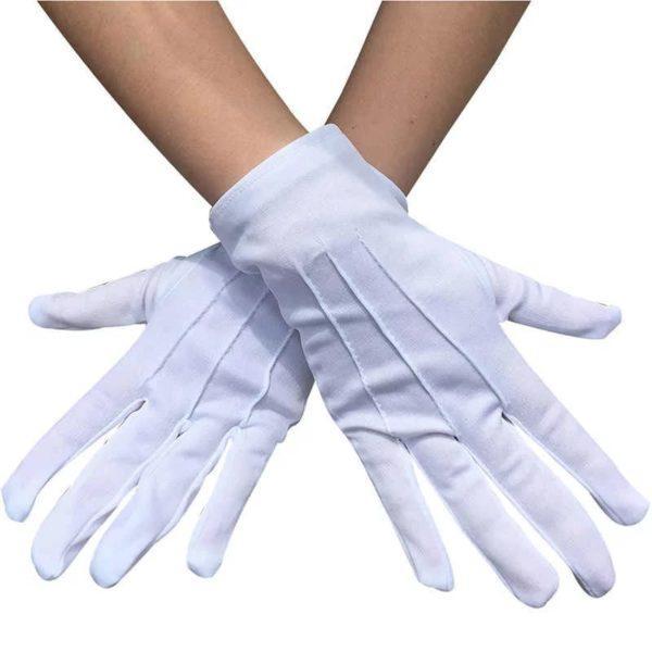 перчатки парадные белые оптом