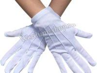 Перчатки парадные белые утепленные 106м